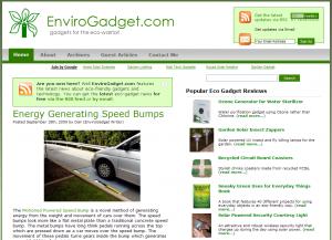 EnviroGadget Screenshot